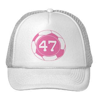 Presente do número 47 do jogador de futebol das me boné