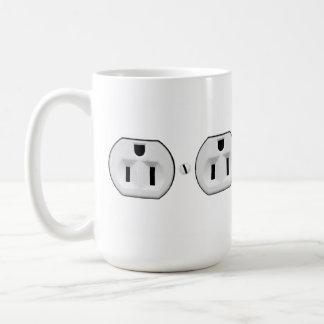 Presente elétrico engraçado do eletricista da caneca