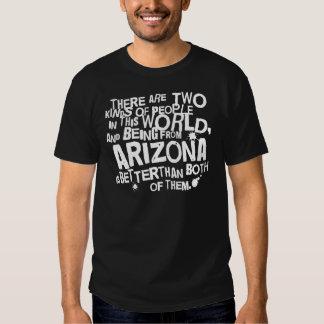 Presente (engraçado) da arizona camisetas