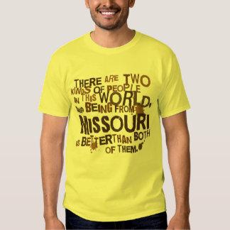 Presente (engraçado) de Missouri Camisetas