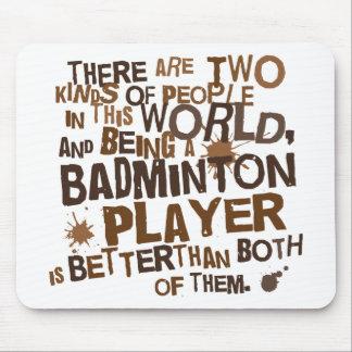 Presente (engraçado) do jogador do Badminton Mouse Pad
