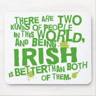 Presente irlandês (engraçado) mouse pad