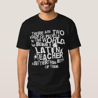 Presente Latin engraçado do professor Camisetas