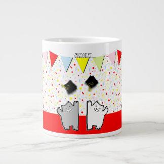 presente personalizado da graduação jumbo mug