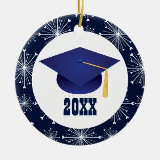 Presente personalizado graduação dos enfeites de