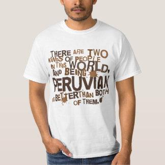 Presente peruano (engraçado) camisetas
