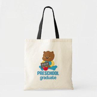 Presente pré-escolar da graduação bolsa de lona