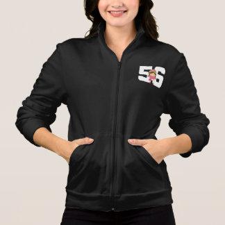 Presente uniforme do número 56 do softball jaquetas para estampar