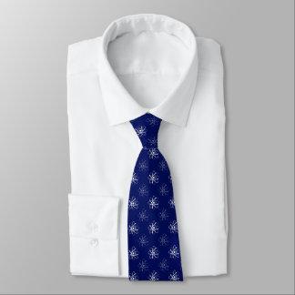 Presentes azuis atômicos do geek do teste padrão | gravata