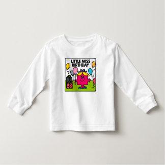 Presentes & balões pequenos da senhorita camisetas