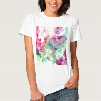 Presentes bonito da mamã da aguarela floral das camisetas