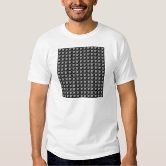 PRESENTES brancos pretos da faísca de NVN18 T-shirt