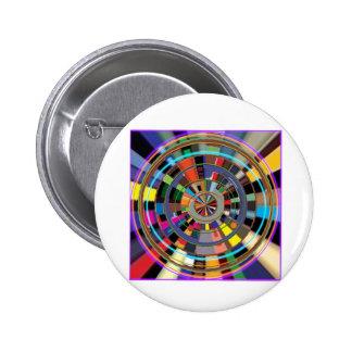 PRESENTES coloridos gráficos da roda da mandala de Boton