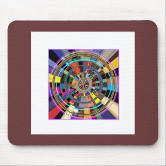 PRESENTES coloridos gráficos da roda da mandala de