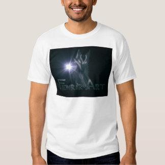 Presentes da arte de Fenrir Tshirt