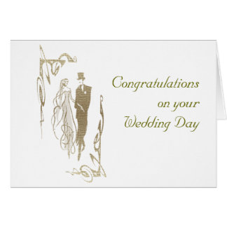 Presentes da arte do casamento & do aniversário cartão comemorativo
