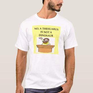 Presentes da paleontologia camiseta
