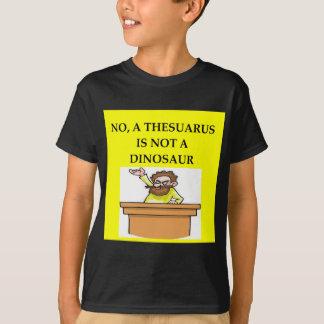 Presentes da paleontologia t-shirt