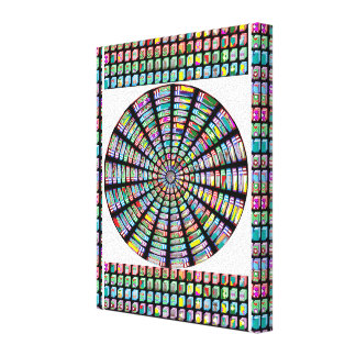 Presentes das canvas de Chakra FineArt da roda da