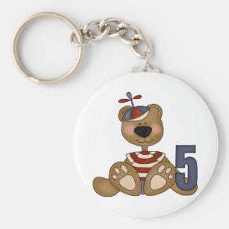Presentes de aniversário do urso de ursinho de chaveiro