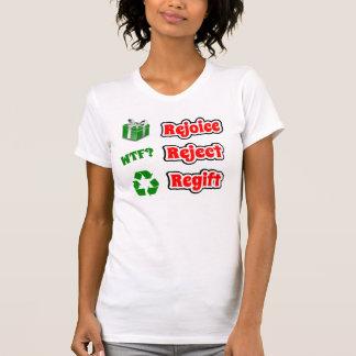 Presentes de Natal de Regifting Tshirts