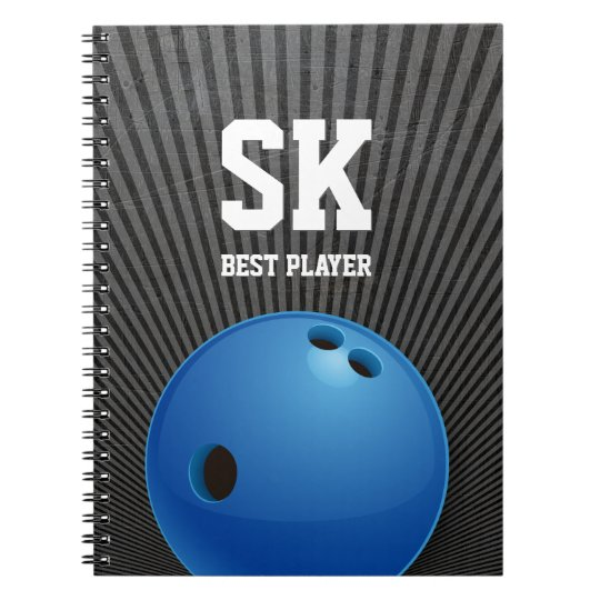 Presentes de rolamento do esporte de | cadernos espirais