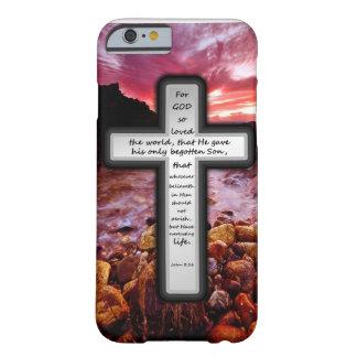 Presentes do 3:16 de John Capa Barely There Para iPhone 6