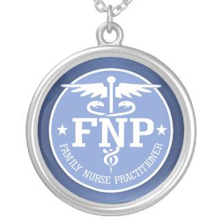 Presentes do Caduceus FNP2 Colar Com Pendente Redondo