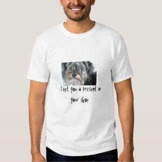 presentes do cão tshirts