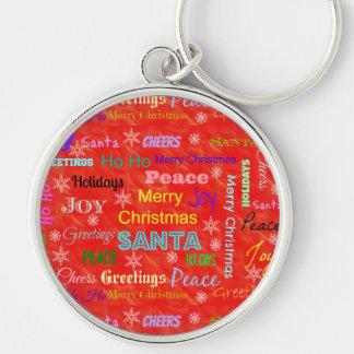 Presentes do chaveiro dos feriados do Natal