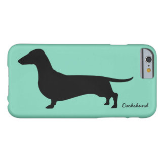 Presentes do Dachshund Capa Barely There Para iPhone 6