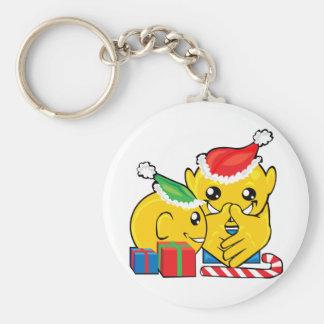 presentes do Natal Chaveiro