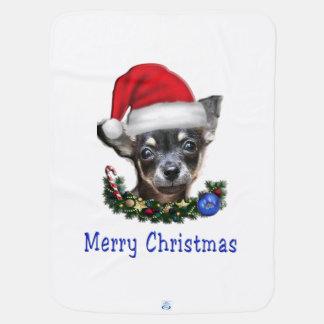 Presentes do Natal da chihuahua Cobertores Para Bebe