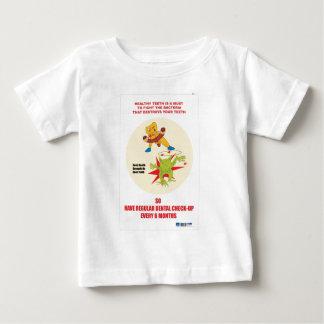 Presentes do promocional da prática dental camiseta para bebê