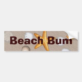 Presentes do tema da estrela do mar e da praia dos adesivo para carro