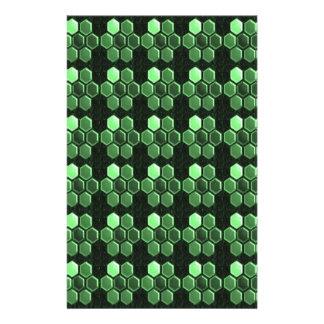 Presentes do teste padrão NVN289 do verde Papelaria