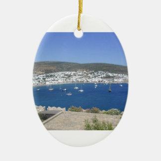 PRESENTES do veleiro da paisagem de BUFFLLO Enfeite Para Arvore De Natal