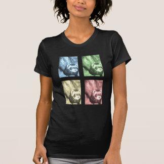 Presentes engraçados da doninha tshirt