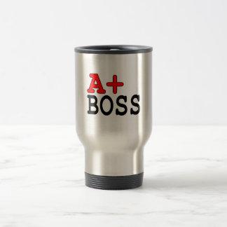 Presentes engraçados para chefes: A+ Chefe Caneca