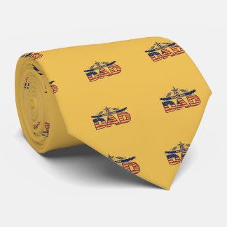 Presentes felizes do dia dos pais gravata