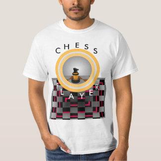 Presentes Geeky do Tshirt da HASTE da xadrez do
