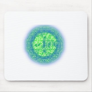 Presentes impressionantes da alienígena da arte de mousepad