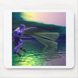 Presentes impressionantes da alienígena da arte de mouse pad