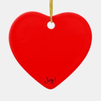 Presentes legal originais para personalizar & ornamento de cerâmica coração