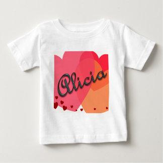 Presentes personalizados nome tshirts