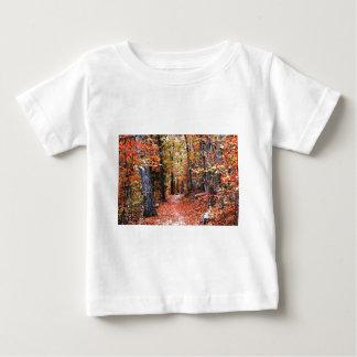 Presentes pintados da aguarela da fuga do outono camisetas