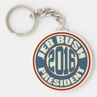 Presidente 2016 de Jeb Bush Chaveiro