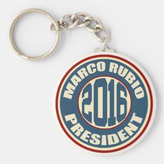 Presidente 2016 de Marco Rubio Chaveiro