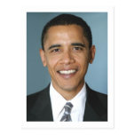 Presidente Barack Obama Cartão Postal