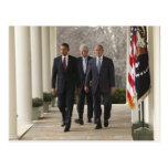 Presidente Barack Obama e presidentes anteriores Cartao Postal